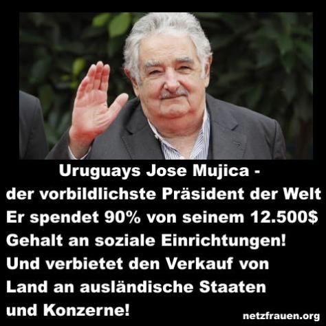 Mujica Präsident Uruguay