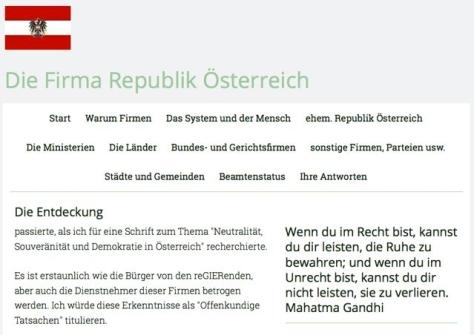 Die Firma Republik Österreich