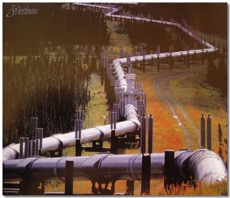Gaspipeline in Ukraine