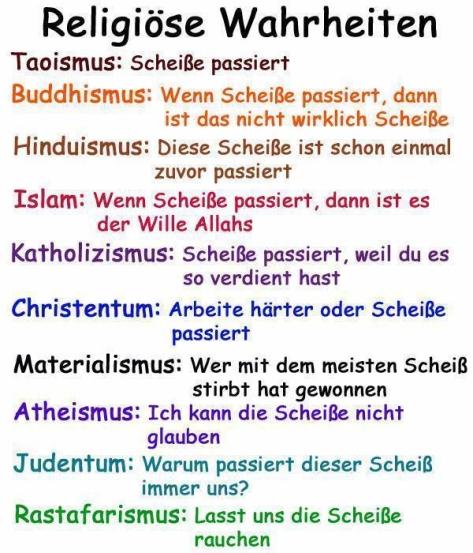 religiöse wahrheiten