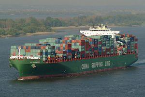 Containerschiff-China