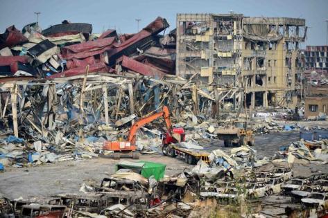Explosion in Tiangjing