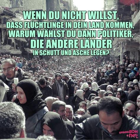 Politiker Flüchtlinge