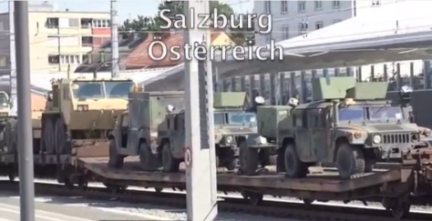Waffentransport Salzburg