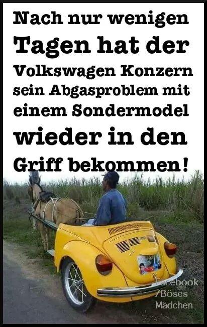 VW Problem gelöst