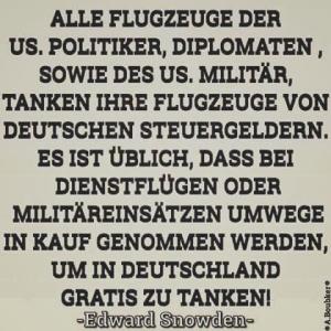 Amis gratis tanken in Deutschland