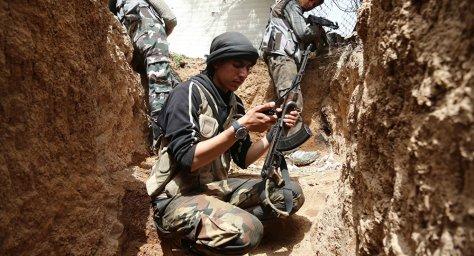 Dschihadisten in Genf Verhandlungen