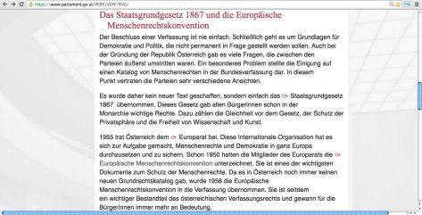 Österreich Menschenrechtskonvention
